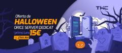 Server dedicat cu 15 euro in prima luna - oferta THC.ro de Halloween