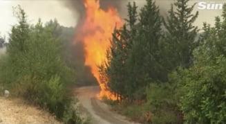 Serviciile de urgenţe din Turcia se luptă pentru a treia zi consecutiv cu incendiile devastatoare VIDEO
