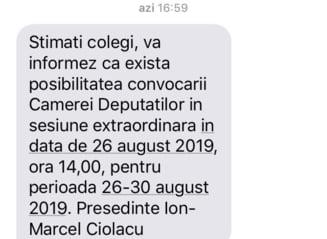 Sesiunea extraordinara ceruta de Opozitie pentru anularea unor legi din timpul lui Dragnea va incepe luni
