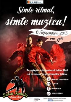 Sesiuni gratuite de dans, targ de antichitati si ateliere pentru copii, in week-end, la Iulius Mall Suceava