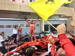 Sezon spectaculos in Formula 1: Vettel il invinge pe Hamilton in Bahrain