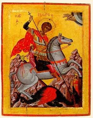 Sfantul Gheorghe - Istoria unui erou de legenda si traditii pagane de Pastele Blajinilor