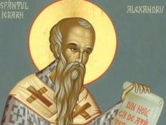"""Sfantul Ierarh Alexandru, """"protectorul omenirii"""""""