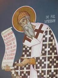 Sfantul Ierarh Spiridon, facatorul de minuni - traditii si obiceiuri