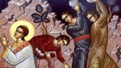 Sfantul Stefan, primul martir al Bisericii, sarbatorit a treia zi de Craciun