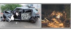 Sfarsit de saptamana insangerat pe soselele din Buzau: patru morti si sase raniti in cinci accidente
