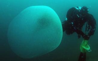Sfere misterioase descoperite in Marea Norvegiei: Cercetatorii au fost uimiti VIDEO