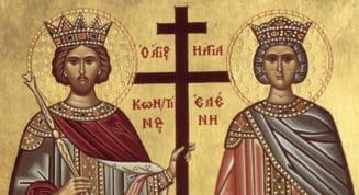 Sfintii Mari Imparati Constantin si mama sa, Elena