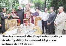 Sfintire de icoana la Biserica armeana