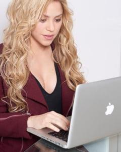 Shakira nu mai e regina Facebook-ului - Un fotbalist a detronat-o