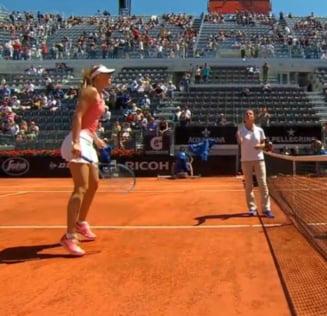 Sharapova, avertisment indirect pentru Simona Halep