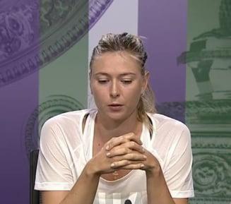 Sharapova, discurs emotionant dupa ce a fost eliminata de Serena Williams de la Wimbledon