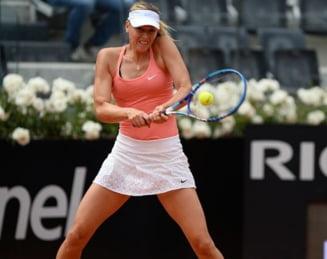 Sharapova, reactie aroganta dupa abandonul Serenei Williams de la Roma