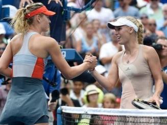 Sharapova a invins-o pe Wozniacki la Madrid