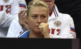 Sharapova nu tine cont de suspendare: ce decizie a luat rusoaica