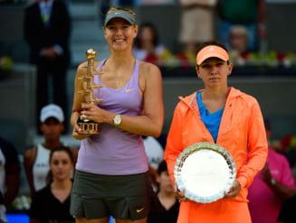 Sharapova o avertizeaza pe Simona Halep: Voi face totul sa castig