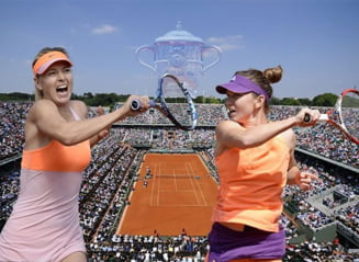 Sharapova o avertizeaza pe Simona Halep inaintea finalei Roland Garros