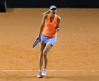 Sharapova reactioneaza in scandalul invitatiilor la turnee: Trebuie sa joc ca sa inving