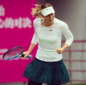 Sharapova s-a calificat in semifinale la Tianjin