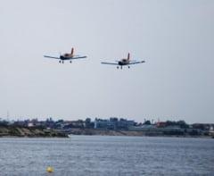Show aeronautic pe Lacul Morii