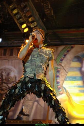 Show incendiar Iron Maiden pe Stadionul Cotroceni (Galerie Foto)
