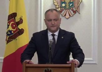 Si Dodon reactioneaza dupa ce Romania a inchis spatiul aerian pentru avionul lui Rogozin: Ei vor conflict, vor razboi aici!
