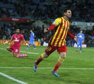 """Si-a revenit Messi! """"Dubla"""" in poarta lui Getafe, Marica rezerva nefolosita"""