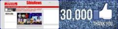 SibiuNews, 30.000 de prieteni pe FACEBOOK