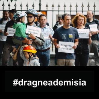 """Sibiul a fost impanzit de panouri cu mesajul """"Oras liber de coruptie. #dragneademisia"""""""