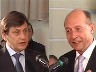 Sicanari intre Basescu si Antonescu, in confruntarea de la Cluj (Video)