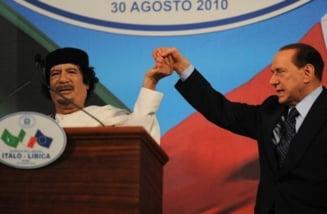 Silvio Berlusconi ar fi ordonat serviciilor secrete asasinarea lui Gaddafi