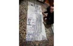 Silviu, artistul autist, realizeaza o uriasa harta a Brailei!