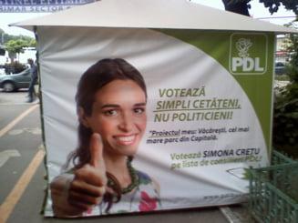 Simona Cretu, consilier la primarie, s-a inscris in competitia PDL pentru Cotroceni: Incerc sa gandesc pozitiv