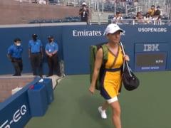 Simona Halep, în culorile României la primul meci de la US Open! Ce rochită a purtat și ce a spus după victoria din SUA VIDEO