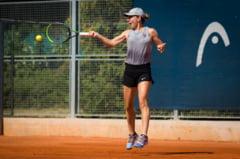 """Simona Halep: """"Este un sentiment placut sa joc finala la primul turneu disputat"""""""