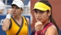 Simona Halep și Emma Răducanu joacă joi la Cluj-Napoca. Programul complet al zilei și orele de start ale meciurilor