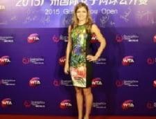 Simona Halep, aparitie de senzatie in China - Cum s-a imbracat la petrecerea jucatoarelor
