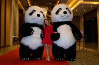 Simona Halep, aparitie spectaculoasa la petrecerea jucatoarelor de la Wuhan