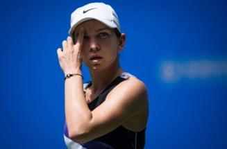 Simona Halep, avertizata de arbitru in timpul meciului de la Adelaide