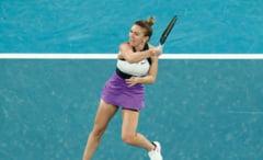 Simona Halep, ca o furtuna la Australian Open. Romanca s-a calificat in optimi cu minim de efort. Cu cine joaca mai departe