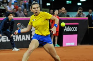 Simona Halep, coplesita dupa victoria din Fed Cup: Nu pot sa descriu in cuvinte ce am simtit
