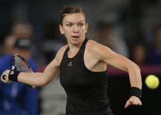 Simona Halep, criticata in America dupa finala de la Toronto