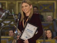 Simona Halep, desemnata cea mai buna jucatoare de tenis din Romania in 2017