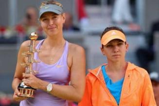Simona Halep, despre Maria Sharapova