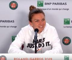 "Simona Halep, despre adversara din sferturile Roland Garros: ""Ma simt batrana!"""