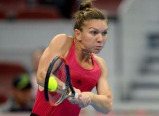 Simona Halep, despre finala de la Beijing cu Caroline Garcia