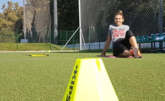 Simona Halep, despre meciul cu Caroline Wozniacki de la Turneul Campioanelor