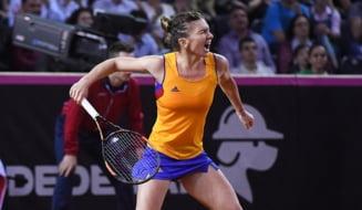Simona Halep, despre meciul cu Irina Begu de la Madrid