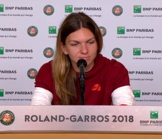 Simona Halep, despre meciul cu Muguruza din semifinalele Roland Garros: Nu am nicio idee