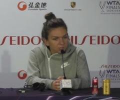 """Simona Halep, despre momentul decisiv al meciului cu Bianca Andreescu: """"Am stiut ca sunt mai puternica mental"""""""